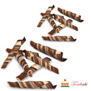 Tordiabi šokolaadidekoorid marmor Twister