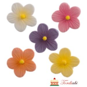 Tordiabi suhkrudekoor värvilised karikakrad 5 tk