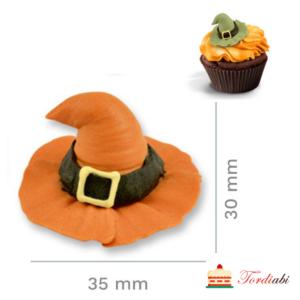 Tordiabi suhkrudekoor võlukübar oranž
