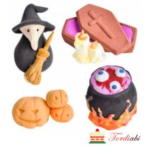Tordiabi suhkrudekoorid Halloweeniks 4 osa kirst,vaim, katel kõrvitsad