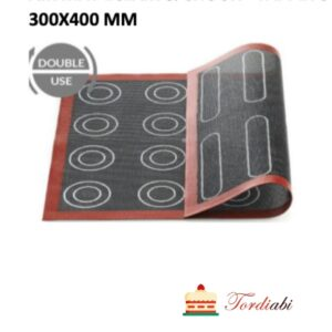 Tordiabi makroonimatt ekleerimatt Silikomart