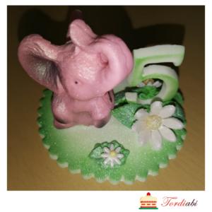 Tordiabi roosa elevant number 5