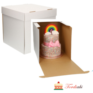 Tordiabi tordikarp kõrge tordi transportimiseks