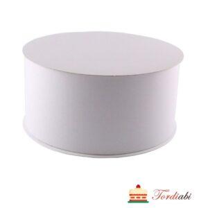 Tordiabi valge tordikarp ümmargune